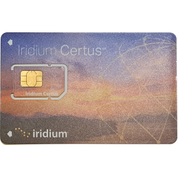 Iridium Certus SIM Post Paid