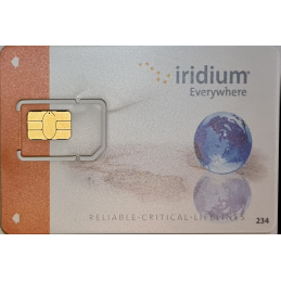 Iridium Post Paid SIM